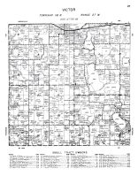 Victor Township, Wright County 1956